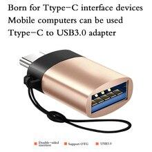 Nouveau Type C à USB 3.0 OTG câble adaptateur Type C adaptateur USB C convertisseur pour Samsung Galaxy S9 Huawei p20 MacBook USB OTG adaptateur
