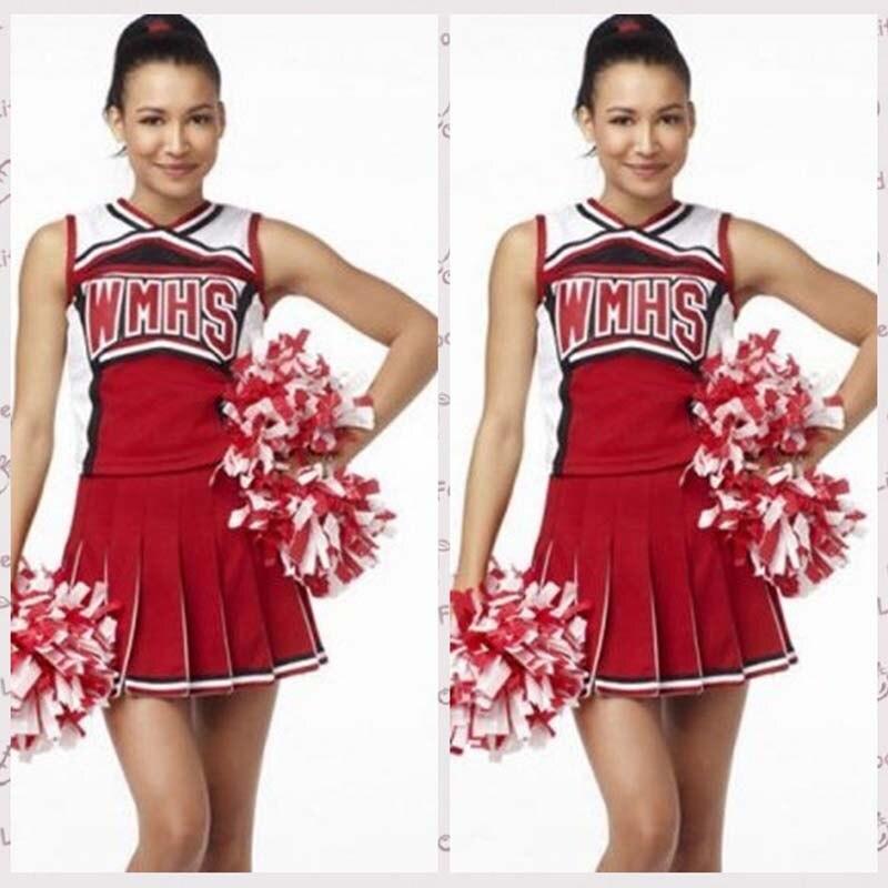Европа и США WMHS Баскетбол Детский костюм Болельщицы девушка Ролевые костюмы для игр костюмы для сцены униформа
