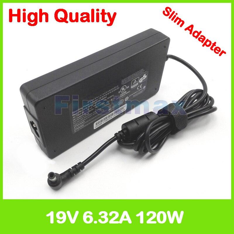 19V 6.3A 120W AC adaptador de computadora portátil fuente de alimentación para Toshiba Satellite L775 L870 L875D M18 M19 M60 M65 P200D P205D P30 cargador