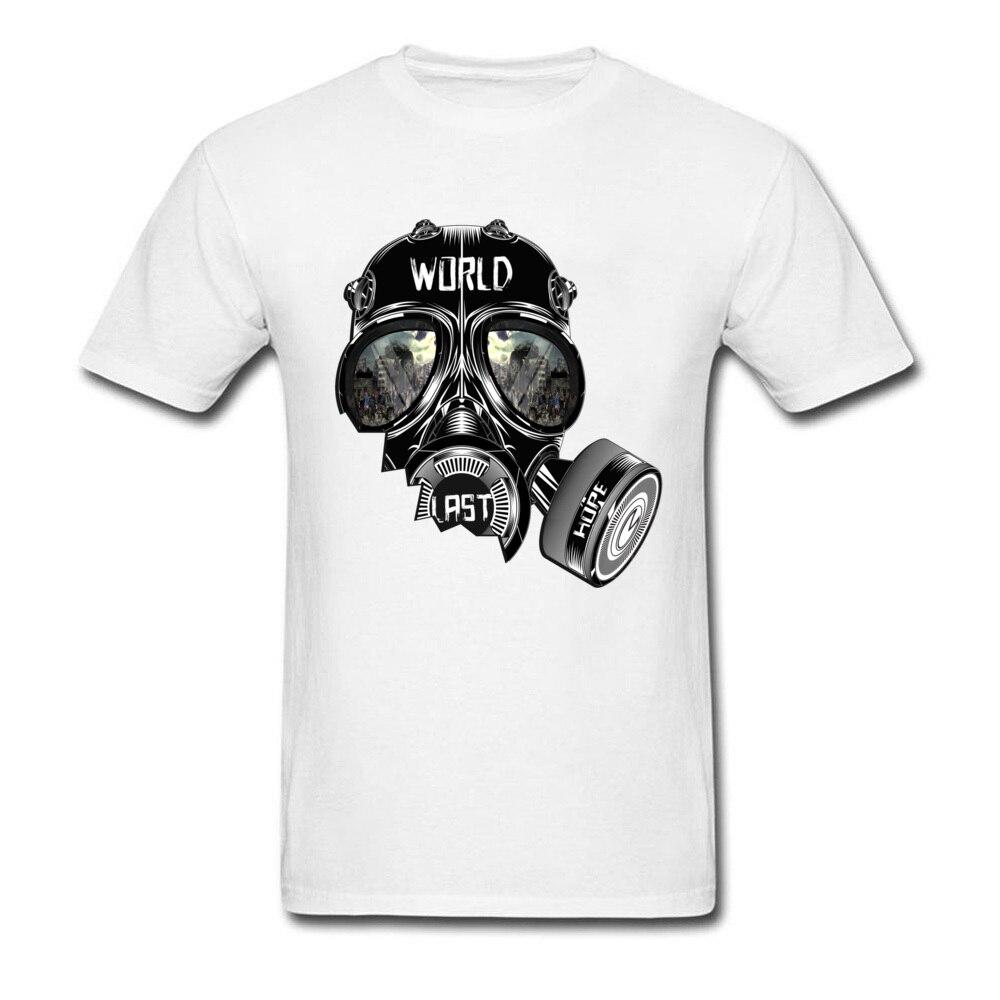 Футболка Civil War Мужская футболка с противогаз футболки из органического хлопка