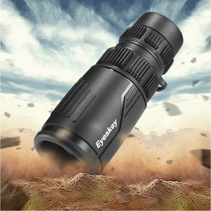 Eyeskey Zoom 8-24x42 telescopio Monocular compacto y portátil impermeable Bak4 prisma monoculares para telescopio para Camping Hunting