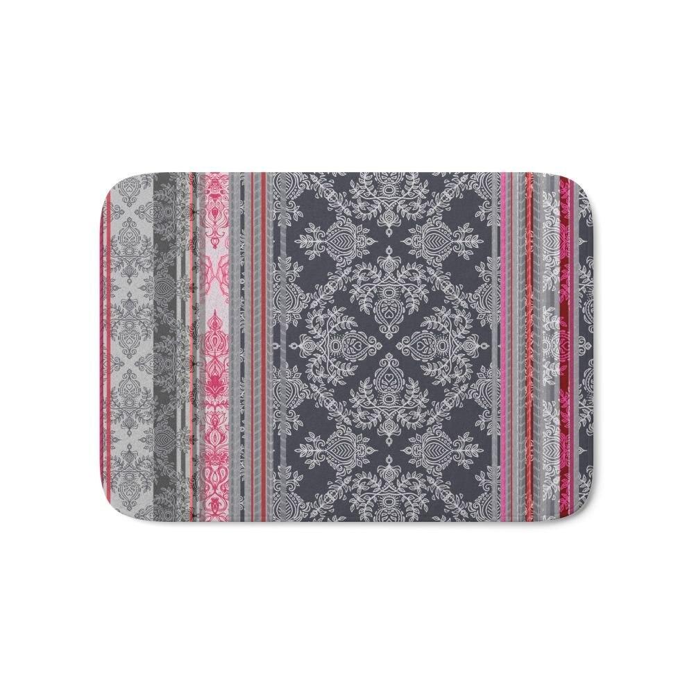 Бордовые розовые темно-синие и серые винтажные богемные обои для ванной, пол для дома, коврик для кухни, для дома, для улицы, для входа