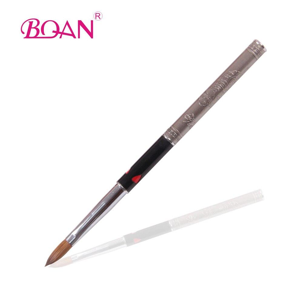 BQAN, 1 pieza, #8, gran oferta, pincel para decoración de uñas, Estilo de China, pincel para uñas, acrílico, pelo Natural, clásico, envío gratis