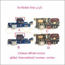 5x pour Xiaomi Redmi Note 4 4X pro prime global international outre-mer Micro USB chargeur Port de chargement ruban Dock connecteur flex