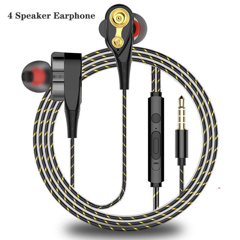 Graves de Alta Fidelidade Fones de Ouvido Estéreo de 3.5mm para Fone De Ouvido De Metal fone de Ouvido Com Fio Fones De Ouvido para Samsung Huawei Xiaomi Telefones fone de Ouvido Do Telefone ouvido