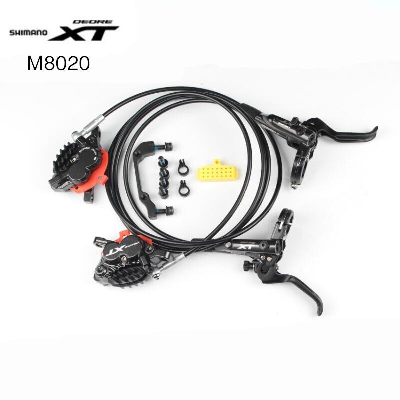 Shimano Deore XT M8020 4 Kolben M640 M820 Bremse H01A H03C Pads MTB Berg Disc Bremsen Hydraulische Besser als M8000