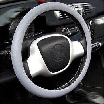 Cubierta de piel de volante de silicona para Jeep Grand cheroki Compass Commander Wrangler Rubicon SAHALA Patriot