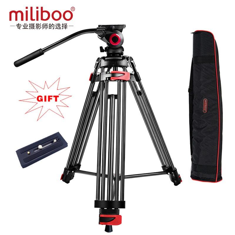 Nuevo trípode portátil fotográfico profesional a monópode MTT602A con cabezal para cámara Digital SLR DSLR plegable 76cm carga máxima 10Kg