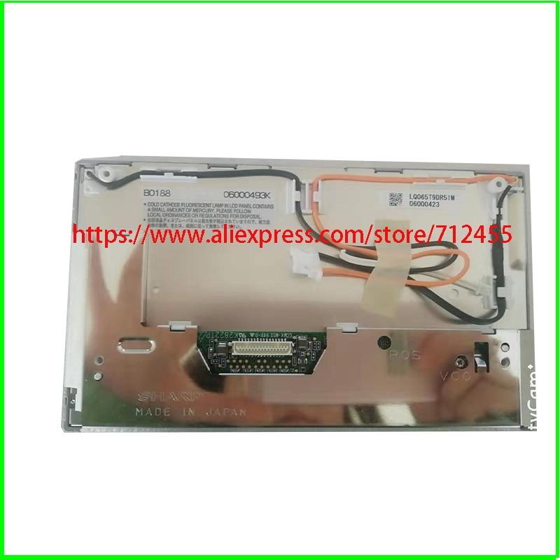 Nuevo 6,5 LQ065T9DR51U LQ065T9DR53U LQ065T9DR54U LQ065T9DR53T para PCM2 sistema de navegación del coche de pantalla LCD panel de pantalla