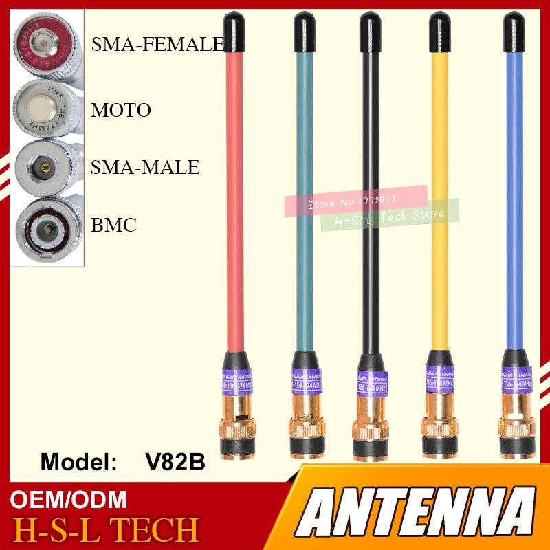 Бесплатная доставка портативная рация антенна 245-246 МГц BNC Тип двухсторонняя радио антенна с высоким коэффициентом усиления Мобильная радио...