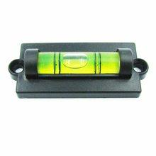 HACCURY Mini waterpas waterpas Kleine geest met Montage Gaten water niveau tool met oren