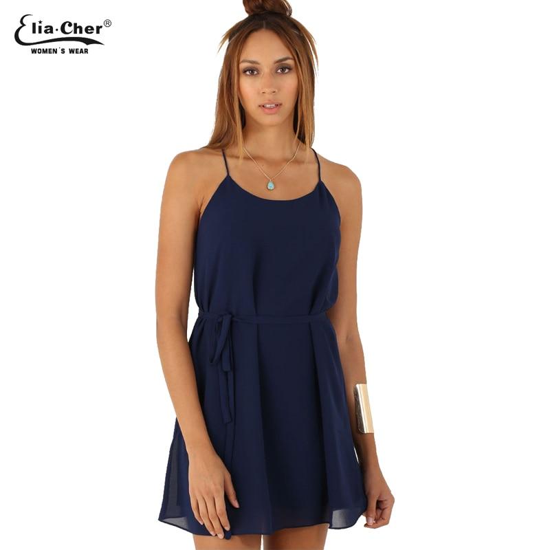 Women Dress  Chiffon Summer Dresses Eliacher Brand Plus Size Women Clothing Chic Sleeveless Evening Party Dresses vestidos