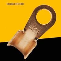 10 pieces 400a thick copper battery cable connector circular splice crimp terminal cable lug ot 400a