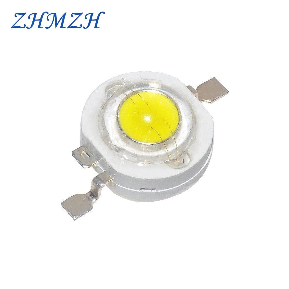 Светодиодный светильник высокой мощности 20 шт./лот, SMD светодиоды, светоизлучающие диоды, 100-110 лм, светодиодный чип для светильника, точечног...