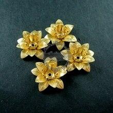 6x15mm laiton brut vintage style filigrane fleur paramètres bricolage pendentif charme fournitures 1800109