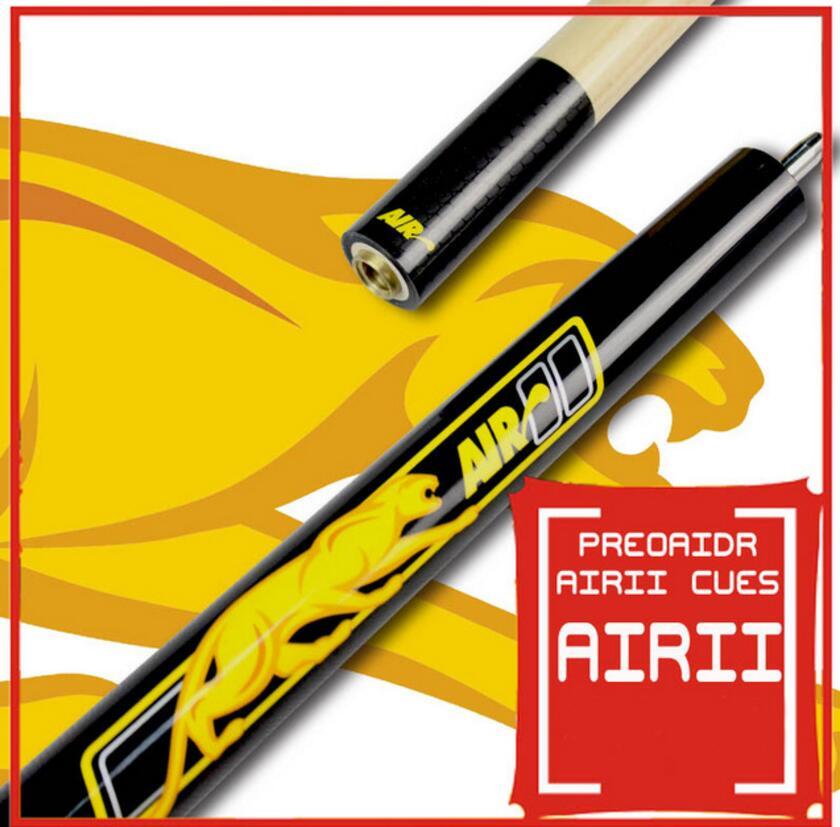 PREOAIDR 3142 Brand Air 2 Jump Cue 13mm Tip 106.68 cm Length Maple Professional Handmade Durable Jump Cue AIR II Billiards Cue