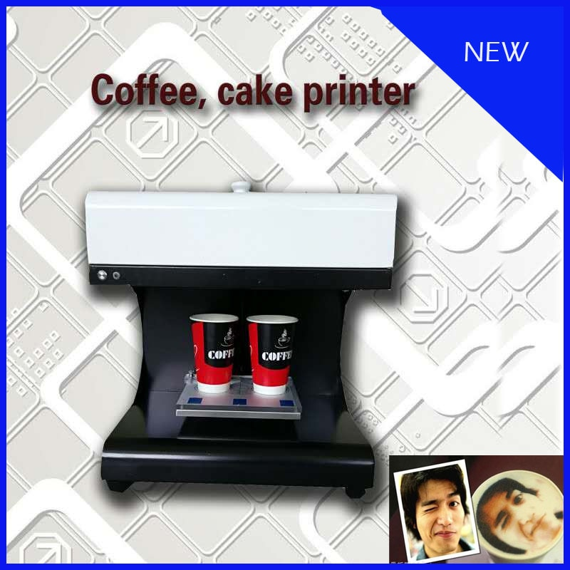 Máquina de impresión de té de la leche fácil de usar, máquina de café 3D latte art, máquina de impresión Selfie Latte con suministro de oro