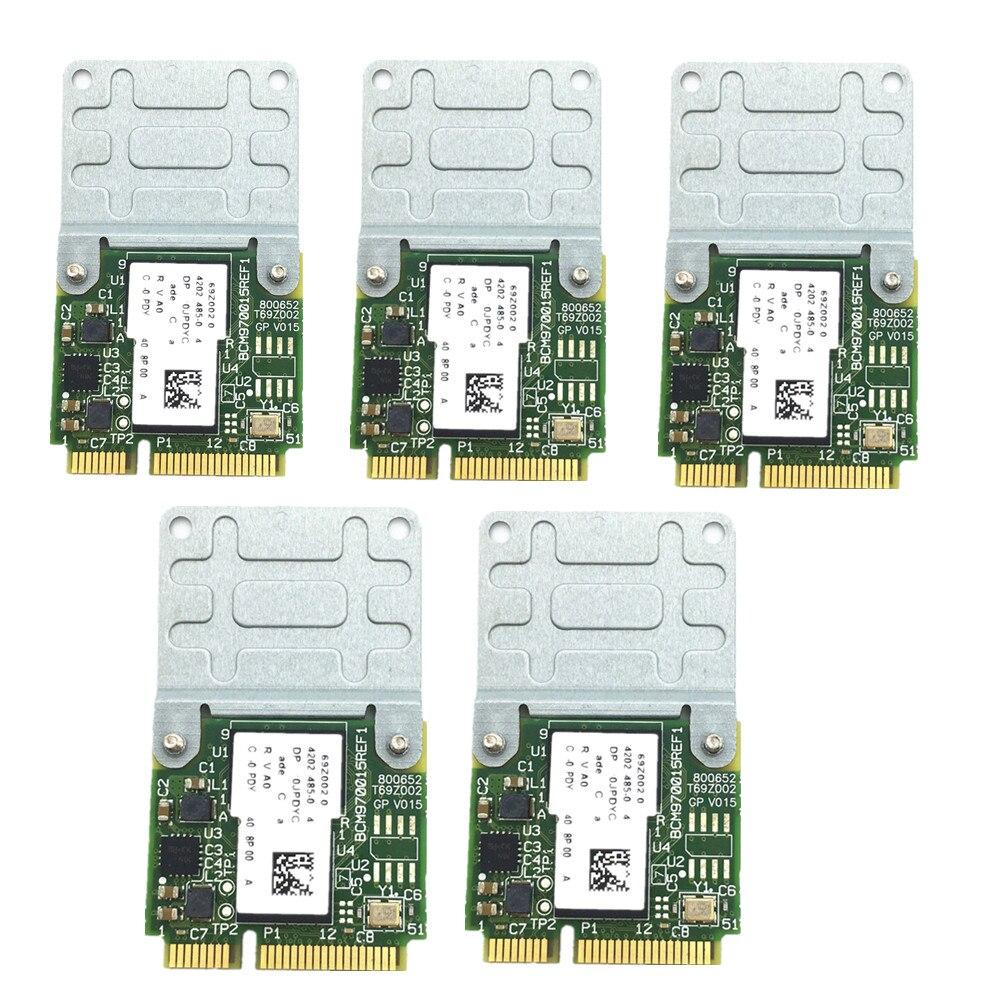 5pcs/set New Broadcom BCM970015 70015 Crystal HD Video Decoder Mini PCI-E Adapter 1080p AW-VD920H