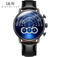 switzerland relogio masculino carnival luxury brand men watches multi function sport quartz watch men waterproof clock c8818 6