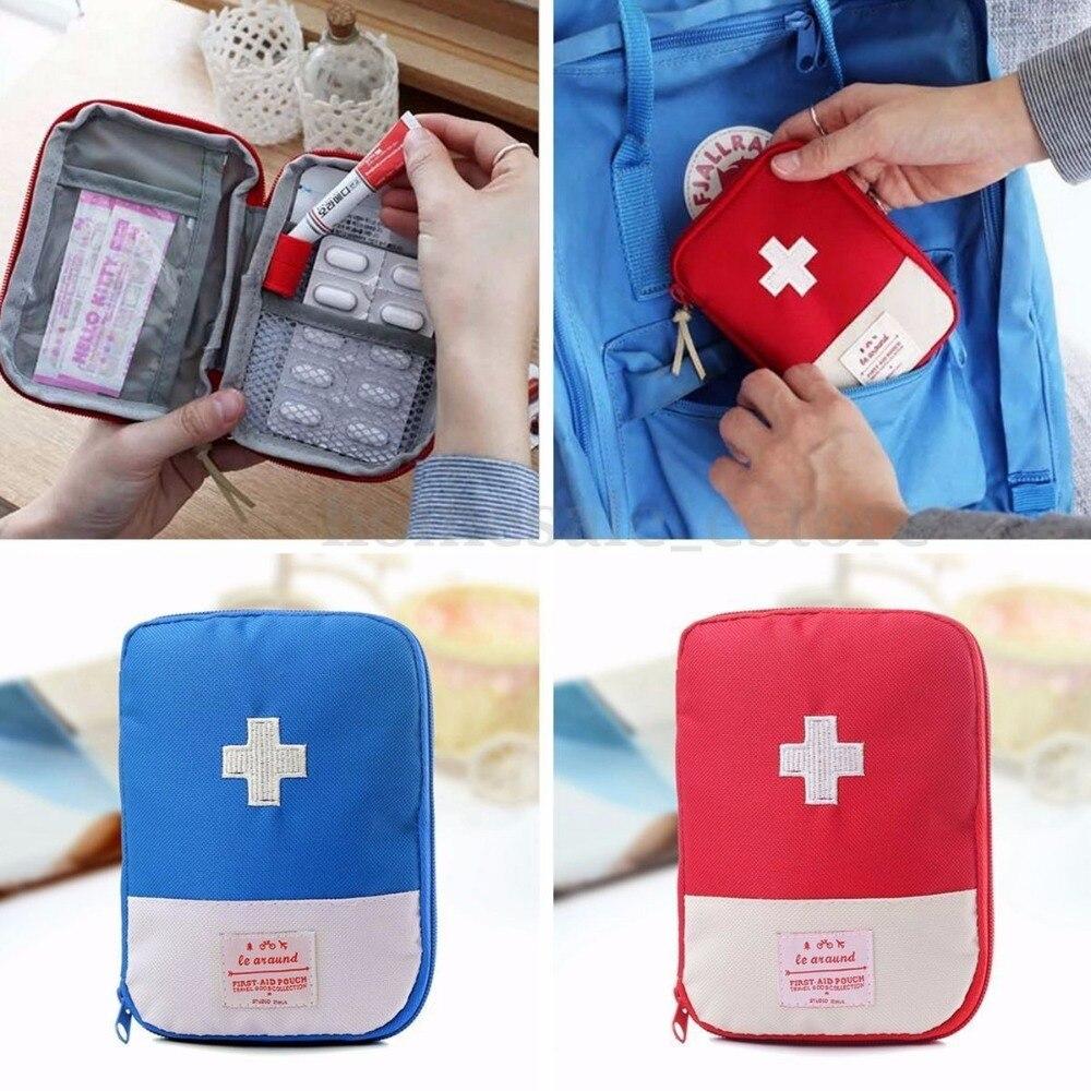 Sac de rangement Portable de médicaments durgence, Kits durgence de survie de pilules dextérieur, organisateur daccessoires de voyage