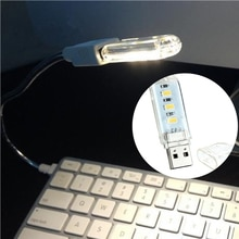 3LEDs Night Light 5V Bulb Cold/Warm Light Lamp Mini USB Type for Reading Gadget Notebook Power Bank Computer Laptop