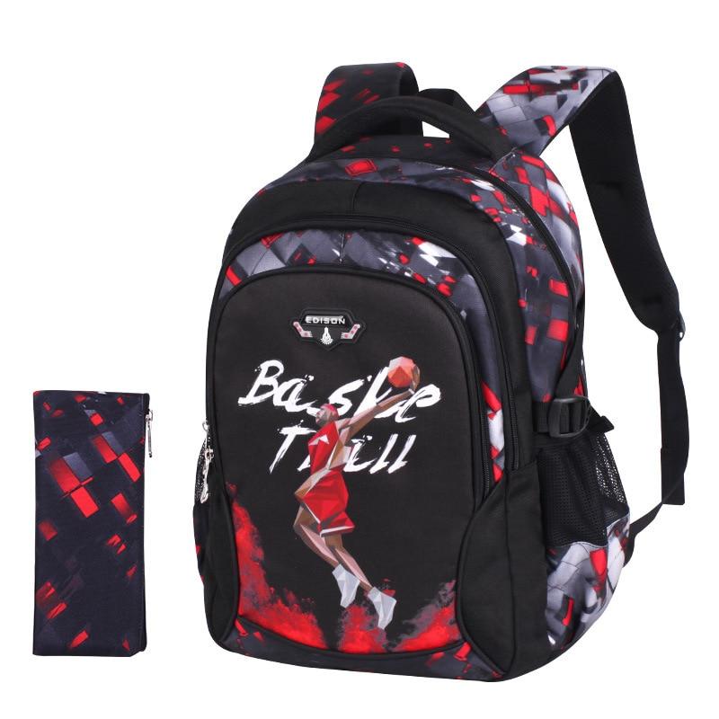 Mochila escolar de baloncesto para adolescentes, mochilas para niños, mochila de anime para niños, mochila infantil para escuela primaria