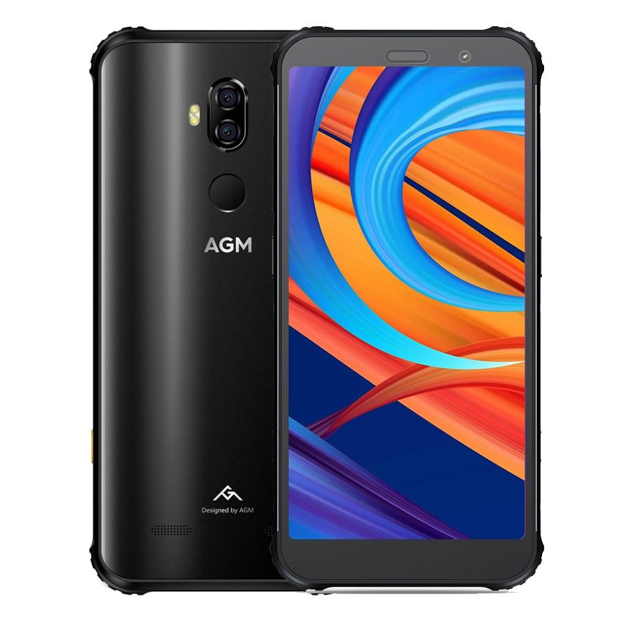 AGM X3 смартфон с 5,99-дюймовым дисплеем, восьмиядерным процессором Snapdragon 845, 20 Мп + 24 МП, Android 8,1, 4G, NFC IP68