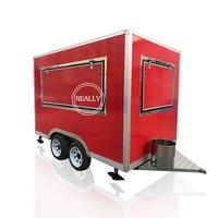 2.8m length cheapest food van /fast food trailer /mobile food truck
