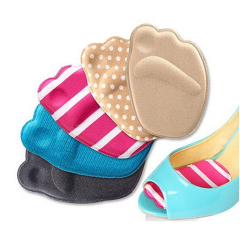 1PCS Soft T-Shape High Heel Grips Liner Arch Support Orthotic Shoes Insert Insoles Foot Heel Protector Cushion Pads for Women