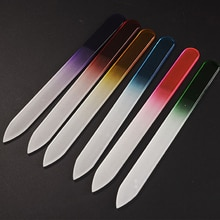 6pcs/set High Quality Nail File Crystal Polishing File Glass Nail Art Manicure File Women Girl Profe