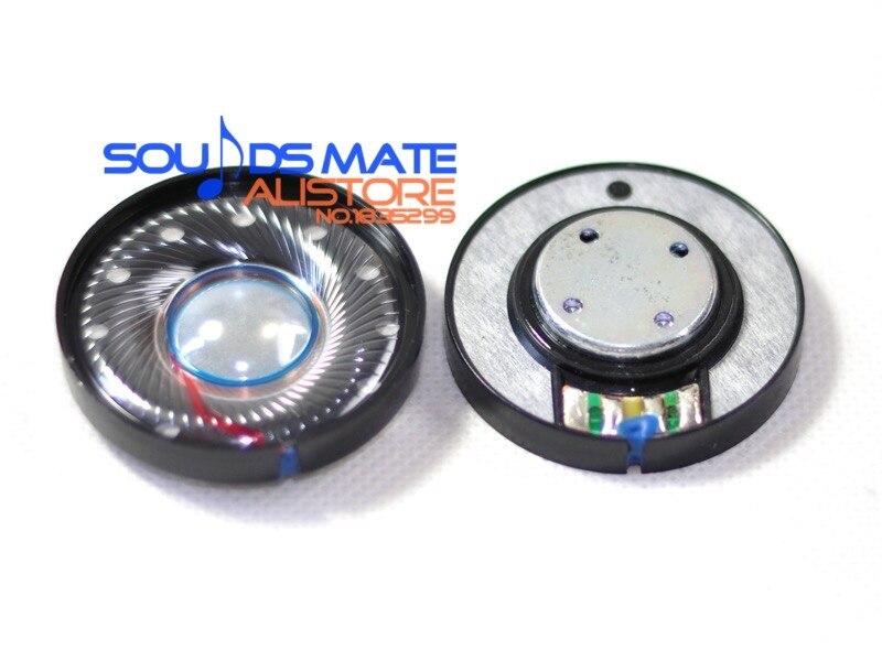 Remplacement nouveaux haut-parleurs Hifi pour casque Beats Solo 40mm haut-parleur 32 ohm 2 pièces (1 paire)