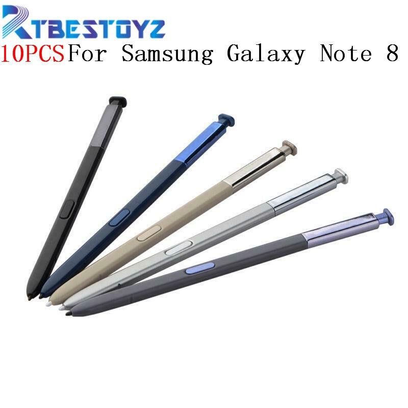 10 قطعة/الوحدة الأصلي لسامسونج غالاكسي ملاحظة 8 القلم النشطة ستايلس اللمس S القلم ل ملاحظة 8 N950 N950F N950FD N950U N950N N950W