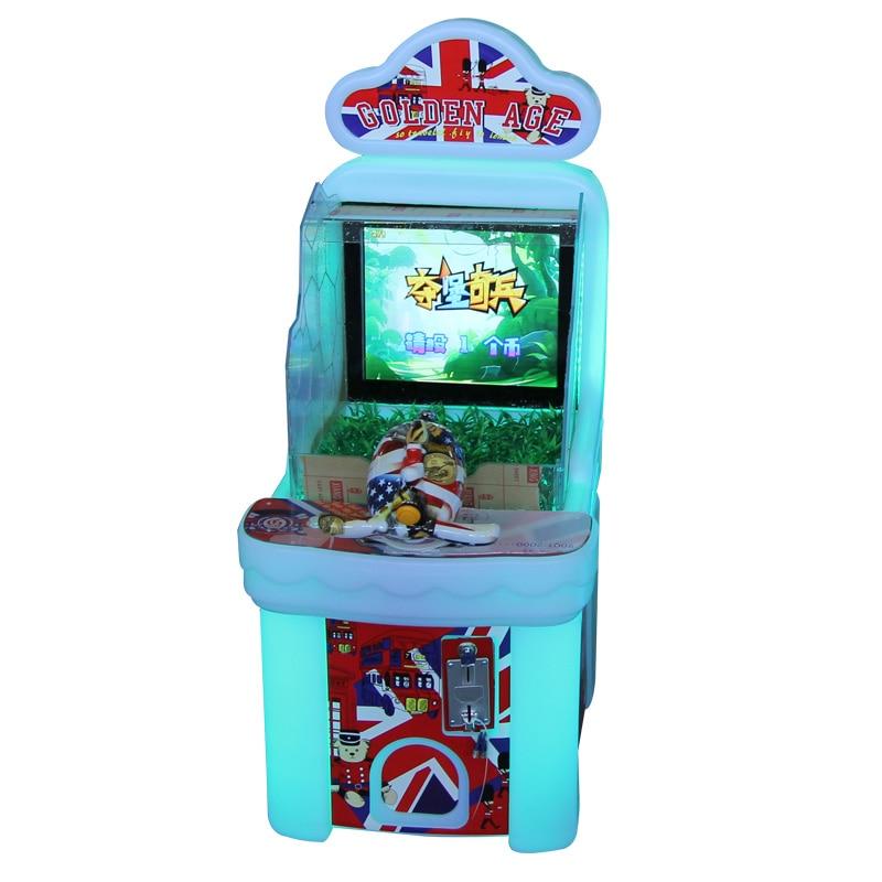 Entretenimiento para niños que funciona con monedas diversión niños Juego de agua consola equipo nuevo Máquina de juego de salón recreativo de pistola de TIRO DE AGUA