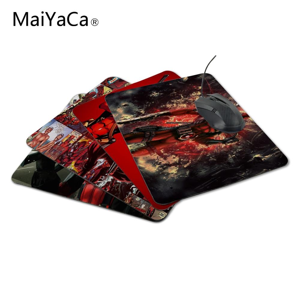 MaiYaCa Deadpool 18*22cm o 25*29cm Durbale almohadilla de ratón de velocidad Control mat