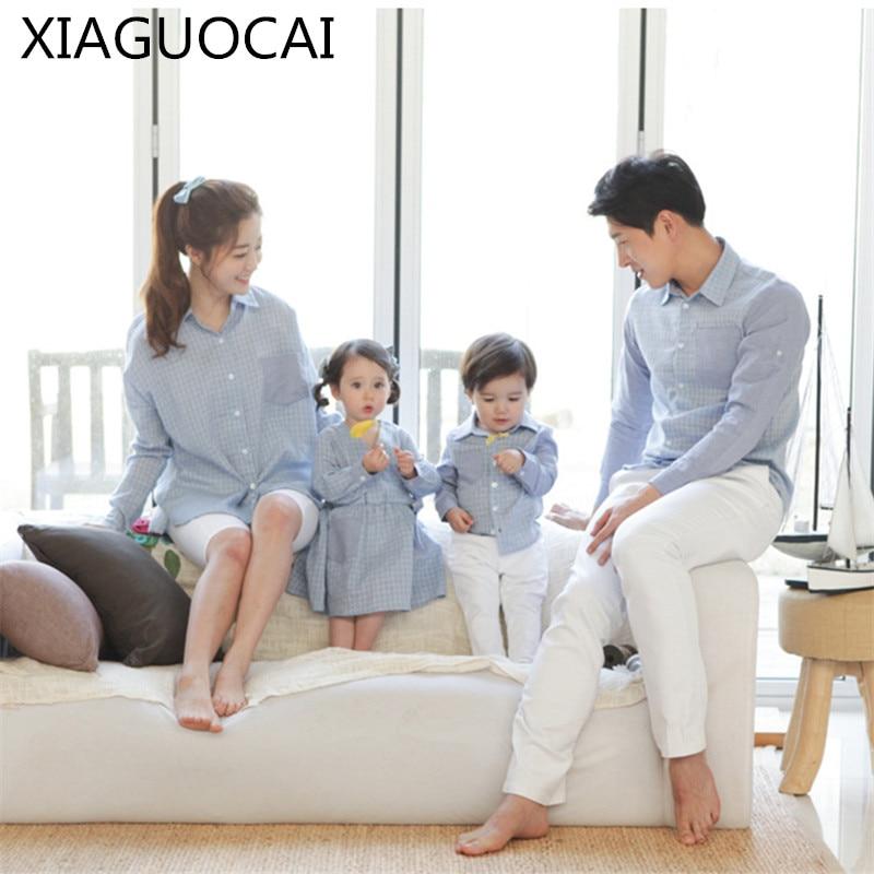 Conjunto familiar, vestido de madre e hija, camisa de padre e hijo, blusa Famliy para niños, camisetas, camisetas para niños, ropa B59
