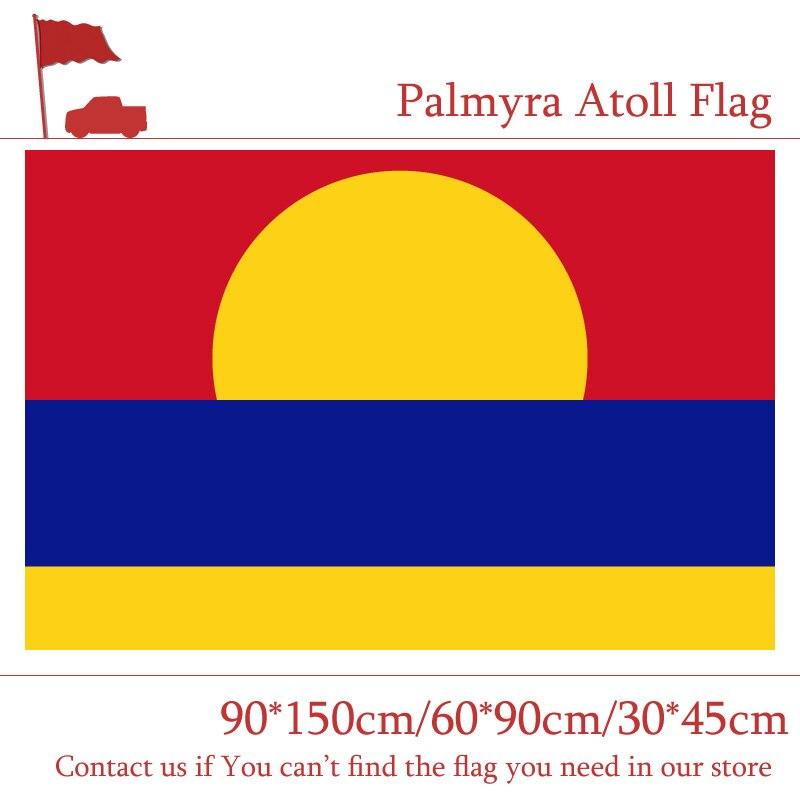 США, флажок Атолл 90*150 см 60*90 см 3x5ft пользовательские Печатный Баннер 30*45 см Автомобильный флаг