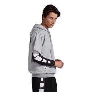 Men Quick Dry Cap Hoodie Sweatshirt Sport Jersey Compression Fitness Shirt Gymming Running Basketball Football Soccer Jacket 839