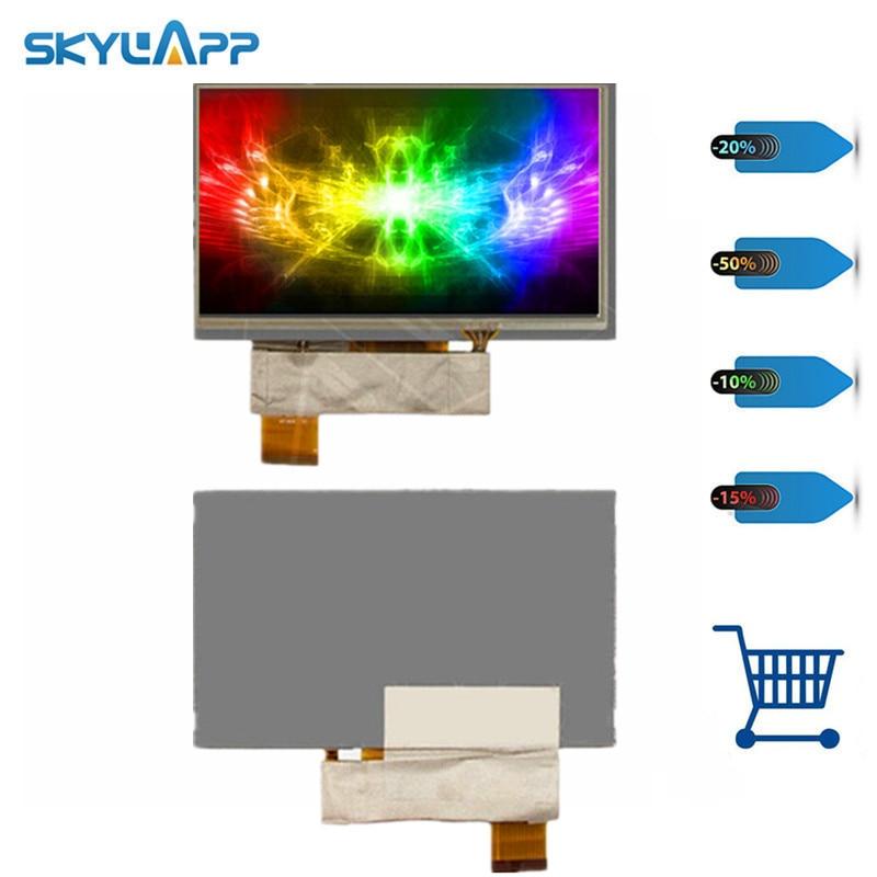 Skylarpu 6 pulgadas para KD060G1-40NC-A5 KD060G1-40NC-A1 KD060G1-40NC-A7 LCD para Navi N60 pantalla LCD de 40 pines panel de pantalla con contacto