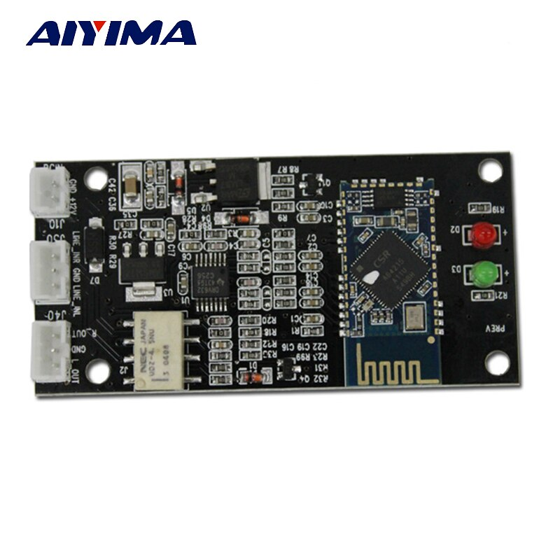 AIYIMA 4,2 Bluetooth Empfänger Bord CSR64215 Amplifers Bluetooth Modul Verlustfreie APT-X Drahtlose Bluetooth Audio DIY