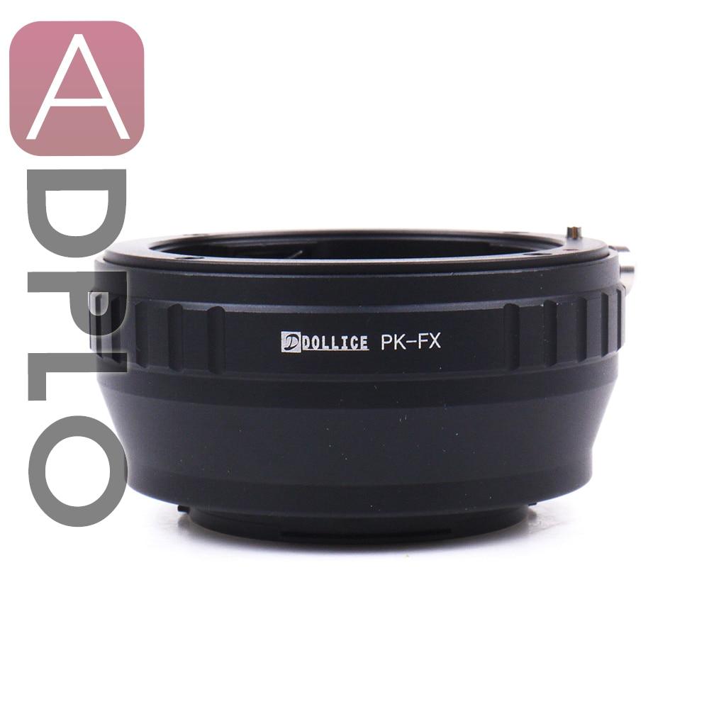 Цельнометаллический адаптер для объектива PK-FX, подходит для Pentax PK, объектива к Fujifilm X, крепление для камеры, X-T1IR, X-A2, X-T1, X-A1, X-E2, X-M1