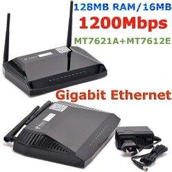 MTK MT7621A 1200 Мбит/с 802.11ac 5 ГГц OPENWRT маршрутизатор Гигабитный беспроводной WiFi роутер USB vpn-padavan прошивка + 128 МБ RAM/16 Мб Flash