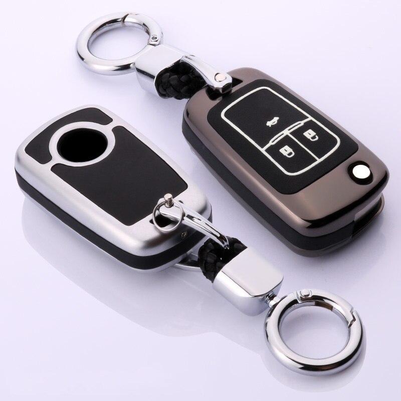 Cuero Luminoso coche caso clave para OPEL Insignia OPEL Astra J Mokka para Buick para Chevrolet Cruze Aveo chispa TRAX voltios