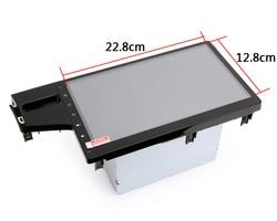 "Protetor de tela de vidro para dasaita carro dvd gps 10.2 ""carro android tablet alta transmitância película de vidro protetora 22.8*12.8mm"