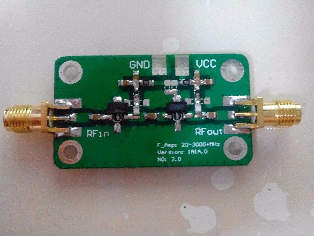 Nuevo amplificador de 20-3500 MHz de banda ancha de bajo ruido LNA 35dB 100 mw