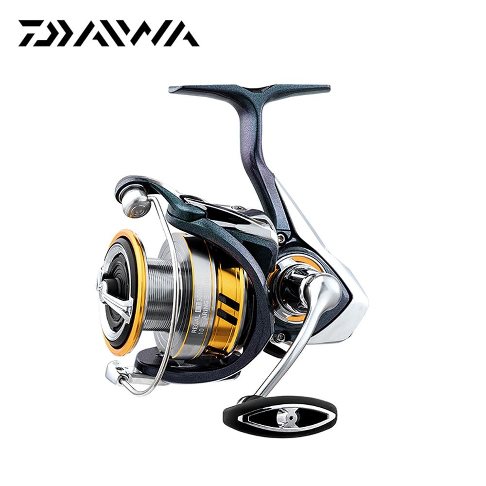 Daiwa 2019 nuevo REGAL LT 10 BB Light Cuadro De Carbono Rotor de aire 1000D 2000D 2500D 2500D-XH 3000D-C 3000D-CXH carrete de pesca giratorio