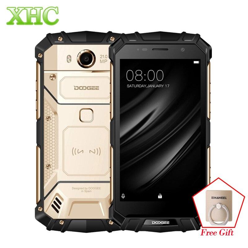 "DOOGEE S60 IP68 teléfonos inteligentes 5580mAh de carga inalámbrico Helio P25 Octa Core 5,2 ""FHD 21MP RAM 6GB ROM 64GB Dual SIM NFC teléfonos celulares"