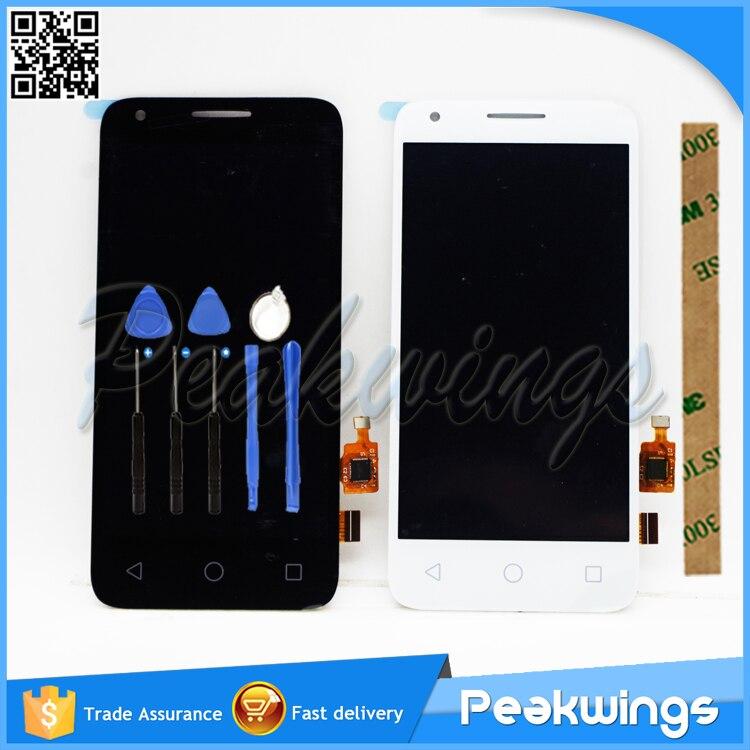 LCD para Alcatel One Touch Pixi 3, 4,5, 4027D, 4027X, OT4027, OT5017, 5017E, 5017D, LCD con ensamblaje táctil para Alcatel One Touch LCD