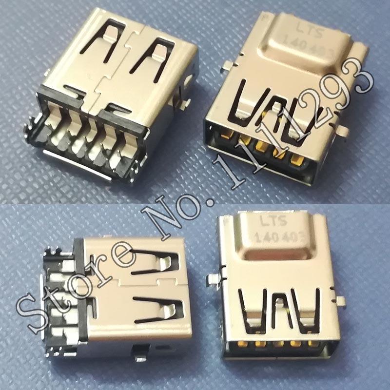 10 unids/lote USB 3,0 conector Jack para HP Pavilion X360 13-s099nr 13-s120nr 13-s128nr 13-S178NR 13-s179nr 13-s 13T-S 14-N 15-N