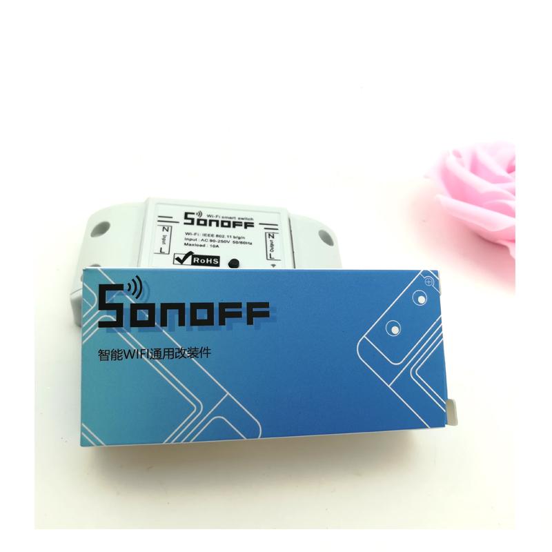 Sonoff dc220v Pilot Bezprzewodowy Przełącznik automatyki Inteligentnego Domu/Inteligentny WiFi Centrum dla APP Inteligentny Dom Steruje 10A/2200 W 13