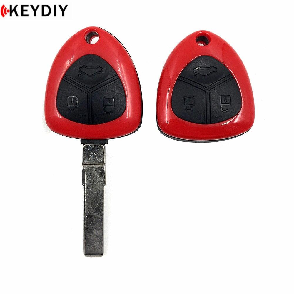 KEYDIY для Ferrari Style B17 KD900/URG200 Key Programmer B Series KD MINI Generater пульт дистанционного управления с лезвием